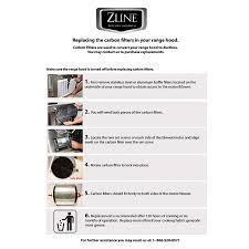 Ductless Island Range Hoods Carbon Filter Ductless Kit U2014 Zline Kitchen