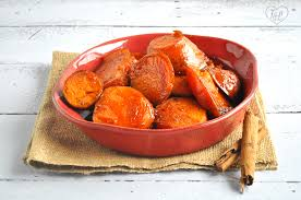 mexican candied sweet potatoes camotes enmielados thyme