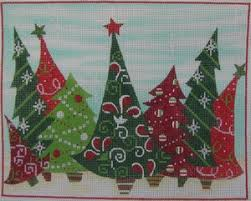 pocket of stitches peterson needlepoint canvas