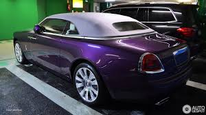 roll royce purple rolls royce dawn 15 januar 2017 autogespot