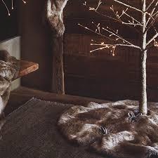 faux fur tree skirt aspen faux fur tree skirt nova68