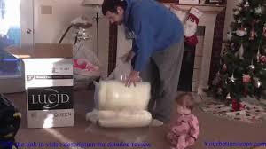 Lucid 3 In Twin Xl A Memory Foam Mattress Topper Review Yourbettersleeps Com Youtube