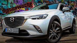 mazda germany motorwoche mazda cx 3 test german youtube