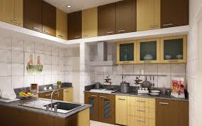 Kitchen Cabinets Kochi Living Modular Kitchen Ideas With Cream Brown Colors Wooden