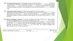 Estimate Mortgage Loan Approval by Promulgated Contract Forms