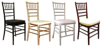 chairs chiavari chairs av party rental