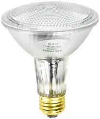 sylvania 14710 50 watt par30 flood capsylite light bulb halogen