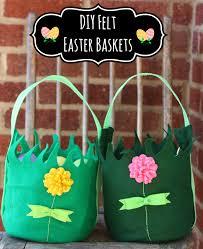 easter egg baskets to make diy felt easter basket inner child