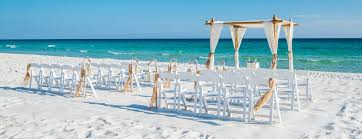 Where To Buy A Beach Chair Destin Wedding Packages