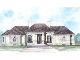 one story mediterranean house plans eplans mediterranean house plan grand one story 2588 square
