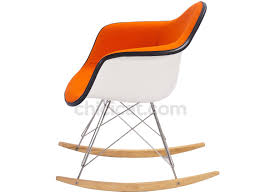 eames rar rocking chair upholstered collector replica