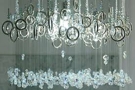 Diy Ball Chandelier How To Make A Tiny Chandelier How To Make A Faux Crystal