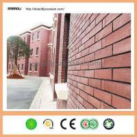 Faux Brick Interior Wall Covering 240 60mm Eco Friendly Facing Brick Faux Brick Interior Wall