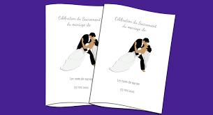 livret de messe mariage ã tã lã charger nouveaux modèles de livret de messe pour votre mariage à