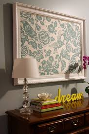 Best DIY Wall Decor Images On Pinterest DIY Home And Crafts - Fabric wall designs