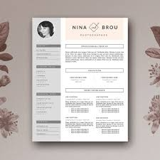 Iworks Templates Resume Free Resume Template Cv Design Resume Templates Creative Market