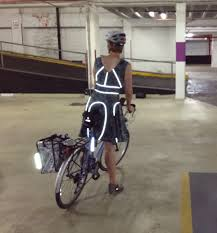 reflective bicycle jacket my lovely reflective bicycle dress u2013 tinlizzieridesagain