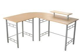 Home Computer Desks Amazon Com Target Marketing Systems Modern L Shape Wrap Computer