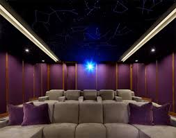 home theater speakers in wall or ceiling dolby atmos home theater gains finishing touch a starlit ceiling