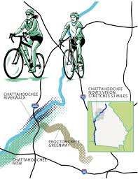 Chattahoochee River Map What Is The Future Of The Chattahoochee River Atlanta Magazine