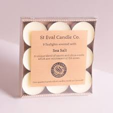 sea salt scented tealights st eval candle company