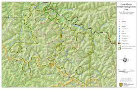 Wmu Map West Virginia Dnr Wma Map Project