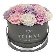 preserved roses heinau pastel box preserved roses in a luxury box