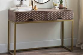 Kirklands Console Table Angled Chevron Wood Console Table Kirklands Thesoundlapse