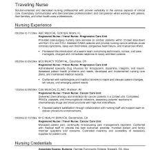 Resume Good Objective Statement Good Objective For Nursing Resume Best Nurse Sample Travel