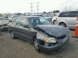 hyundai accent 2001 for sale salvage certificate 2001 hyundai accent sedan 4d 1 6l 4 for sale