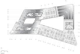 image result for zaha hadid office building plans office int