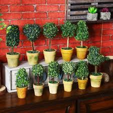 online buy wholesale mini artificial plant tree from china mini