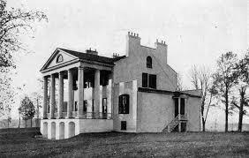 Monroe S House File Oak Hill James Monroe House Rear View 1915 Jpg