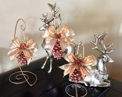 white pinecone ornaments ornaments pinecone