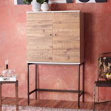 Lacquer Bar Cabinet Reclaimed Wood Bar Cabinet Best Home Furniture Decoration