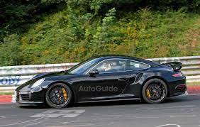 porsche 911 dark green 2017 porsche 911 turbo s facelift revealed autoguide com news