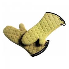 Kevlar Curtains Kevlar Oven Mitt Gold 17