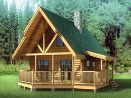 free small cabin plans with loft log home totally diy floor and