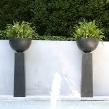 planters astonishing contemporary outdoor planters modern planter