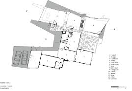 copper house charles rose architects archdaily floor plan