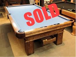 Pool Table Olhausen by Sold Pre Owned 9ft