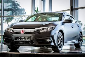 black honda civic special edition matte black honda civic now available in the uae