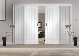 Diy Sliding Door Room Divider Easi Slide White Room Divider Door System Room Dividers