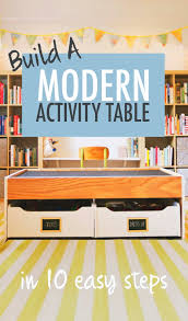 train table plans how to build a modern train activity table in 10 easy steps