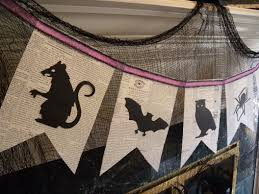 2 diy halloween bunting clockwork interiors