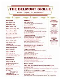 red and white cool menu design with simple design that design for