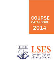 london of energy studies full course catalogue 2014