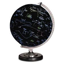 earth globes that light up the earth or constellation illuminated globe hammacher schlemmer