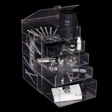 makeup storage acrylic 3make up organizer netflix millarworld
