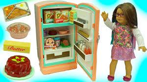 american fridge playset maryellen u0027s refrigerator u0026 food set
